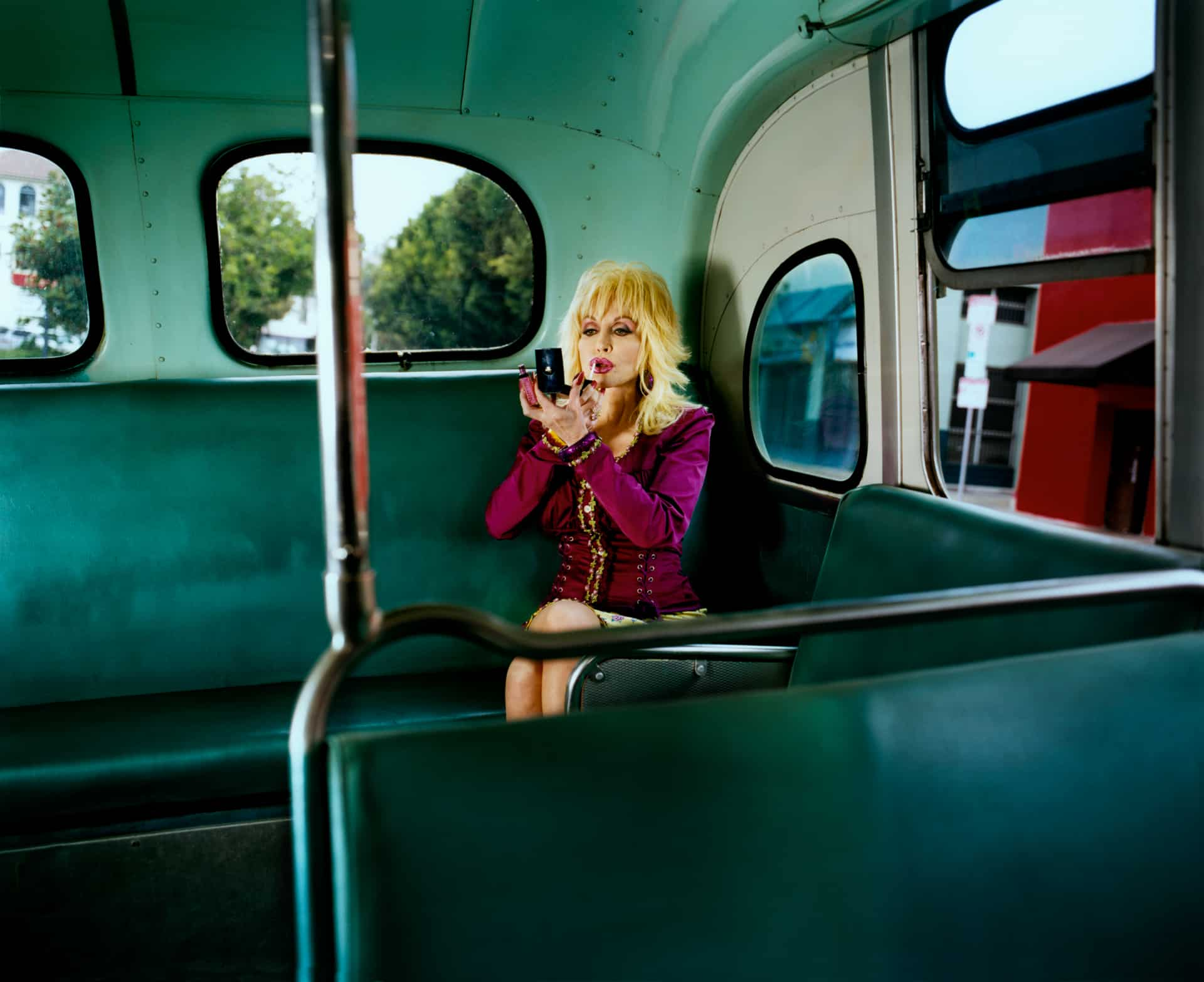 Dolly On Bus, Los Angeles, 2008