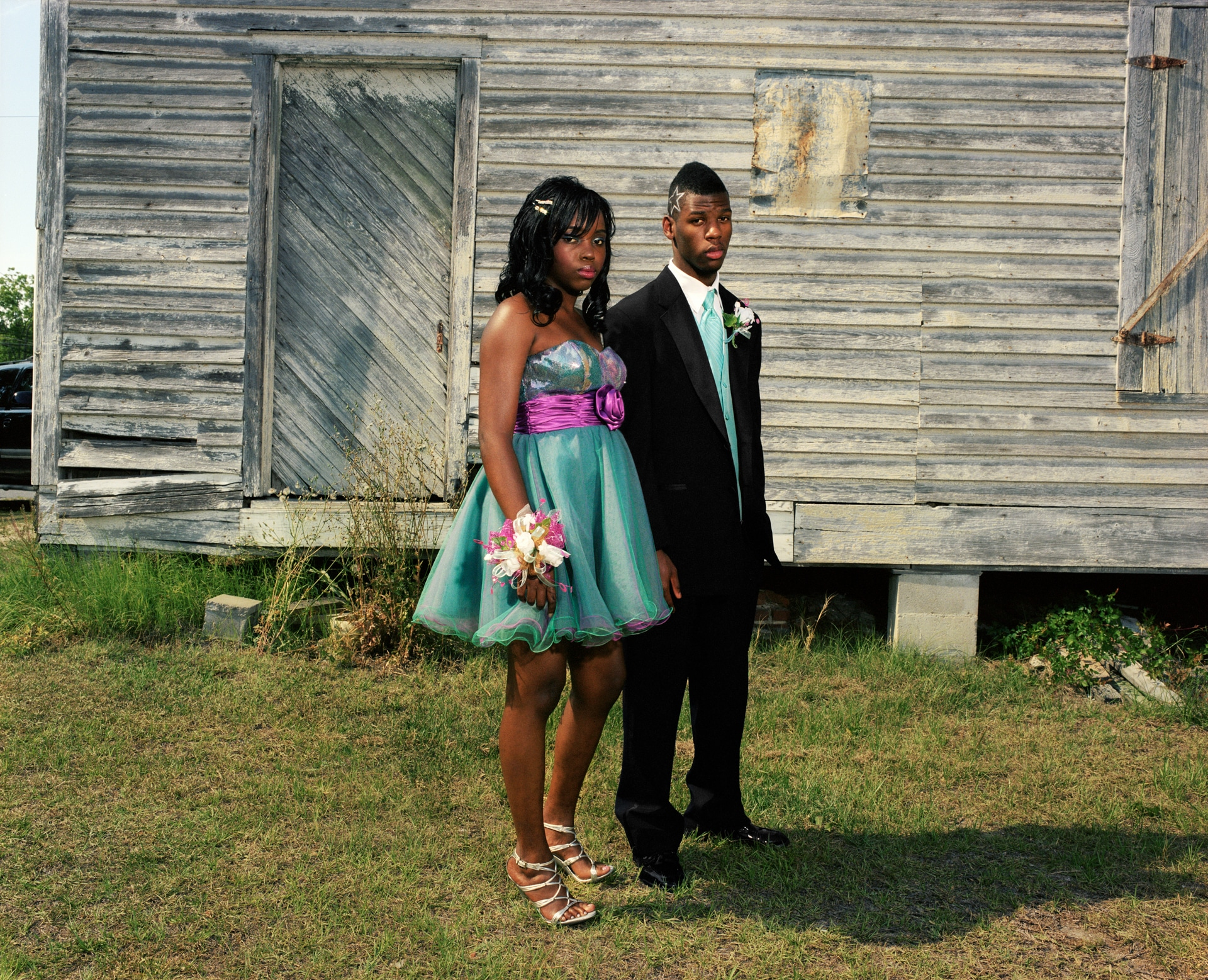 MOUNT VERNON, GEORGIA – MAY 2011: Amber and Reggie on May 7, 2