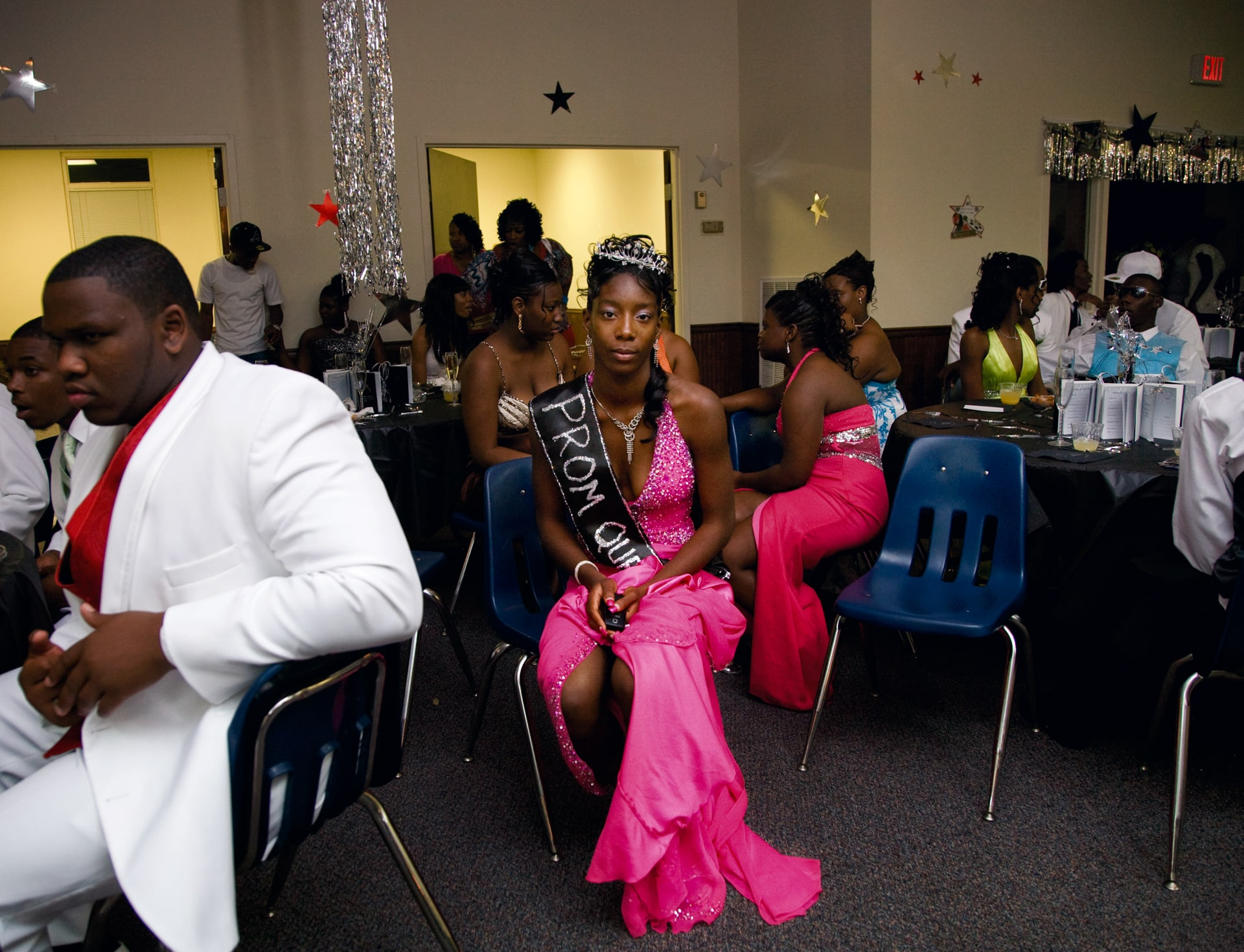 VIDALIA, GEORGIA – MAY 2009: Niesha, the prom queen on May 2,