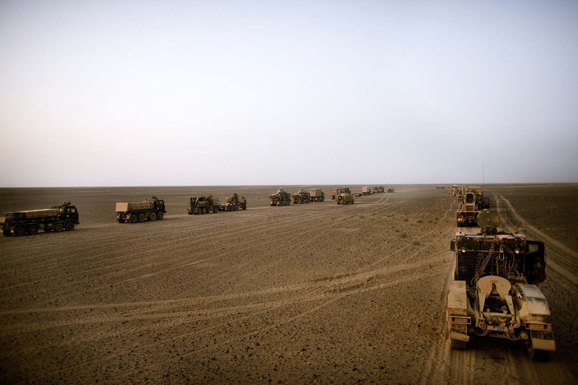British Paratroops living in a Forward Operating Base in Afghanistan