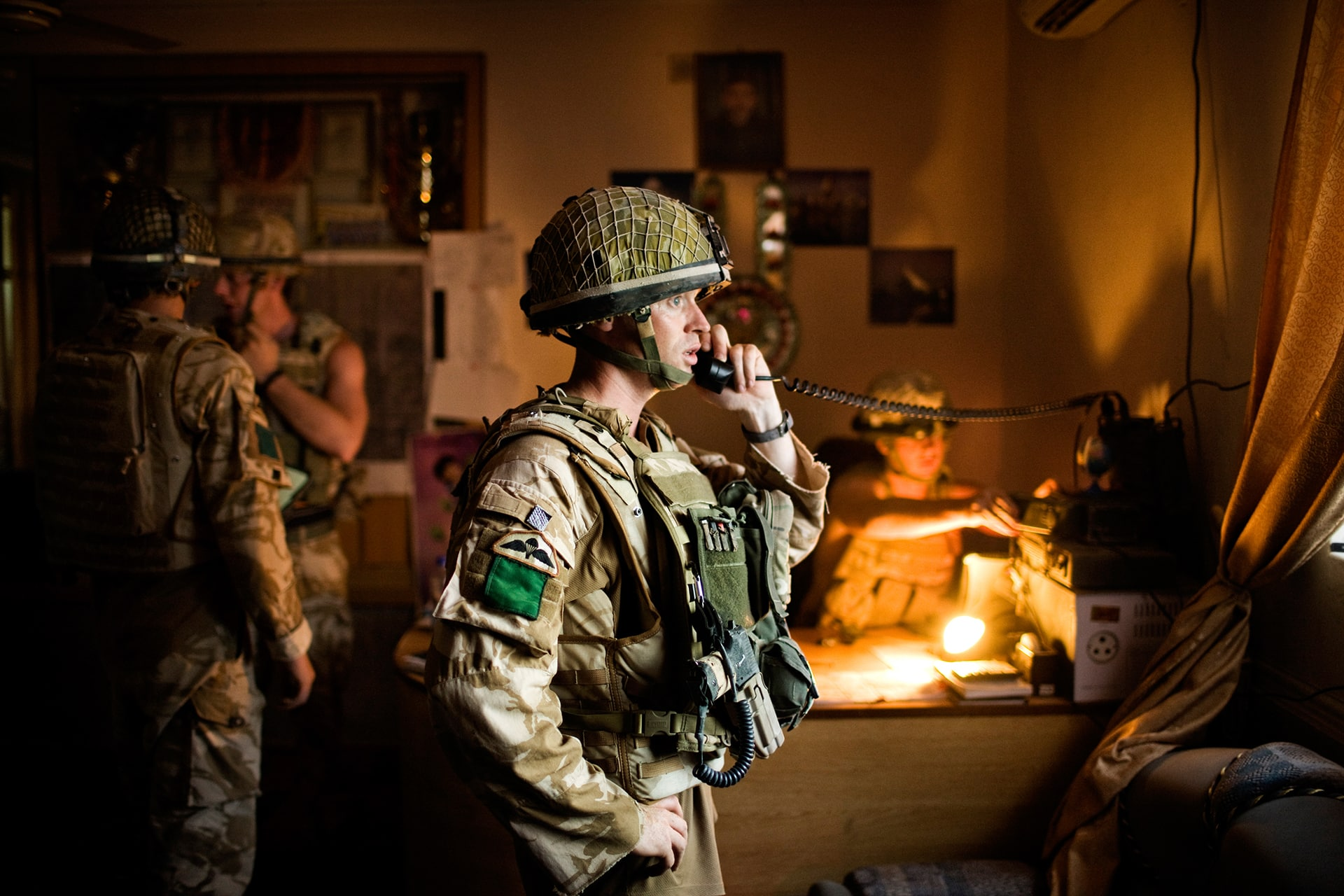 "British Paratroopers conduct operation ""Daor Bukhou"" in Kandahar City for the first time since 2001"