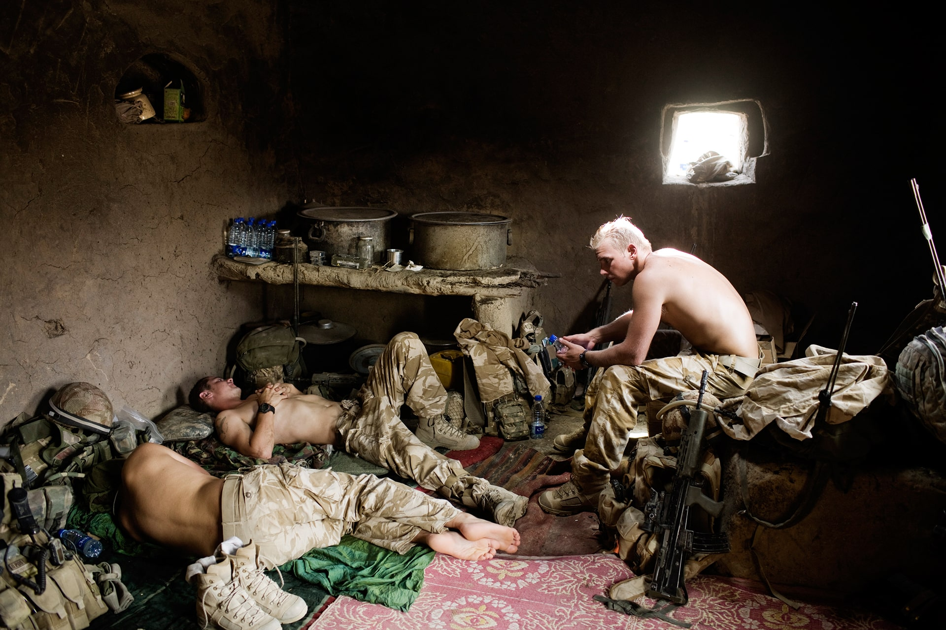 7th Parachute Regiment Royal Horse Artillery conduct operations in Afghanistan