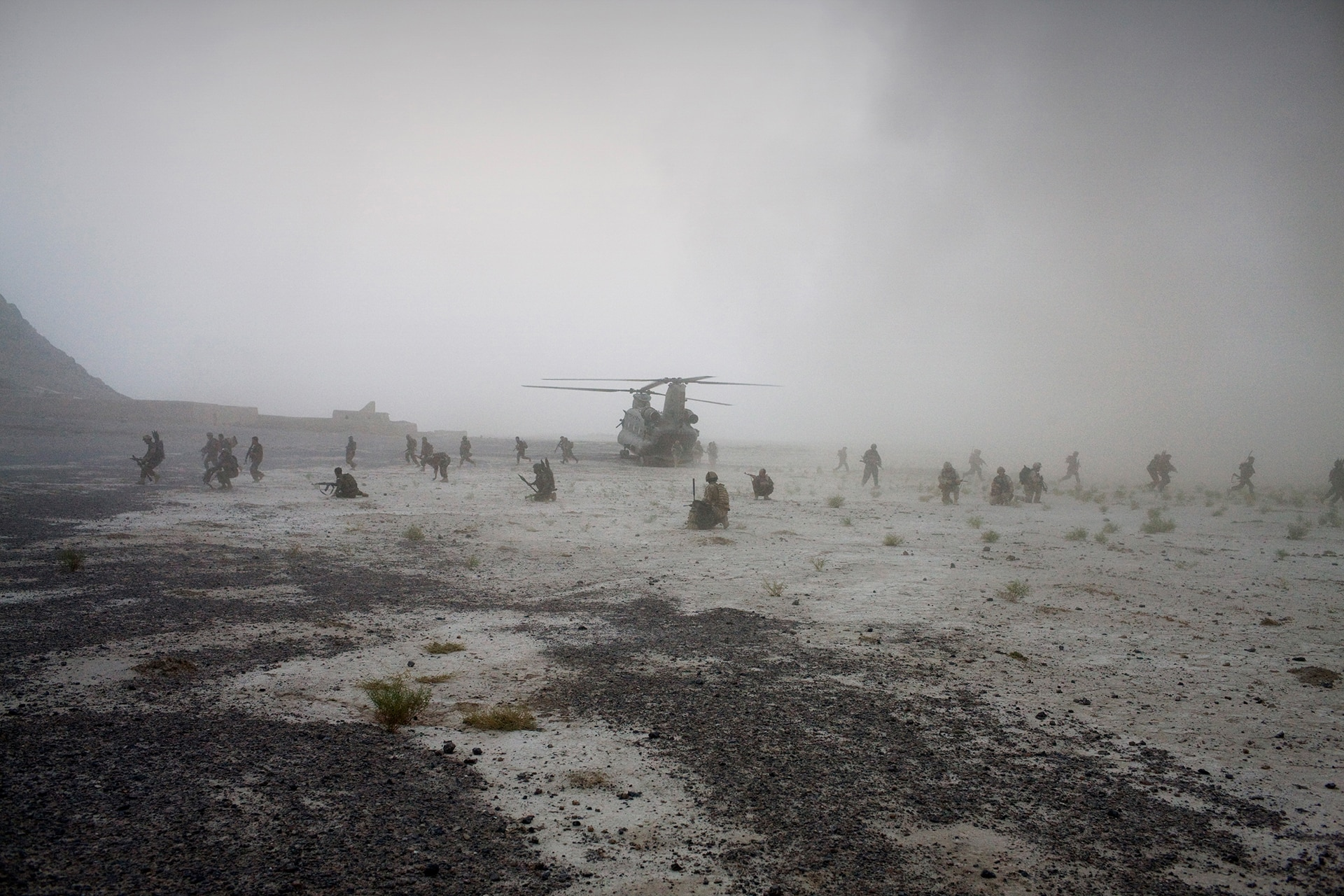 Joint Helicopter Force provide services to the troops on the ground