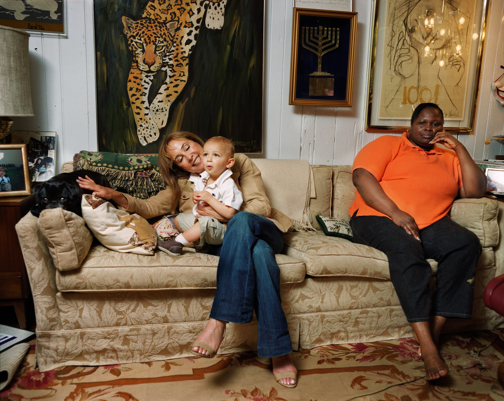 Slater, Mom, and Dorothy, Mamaroneck, 2009