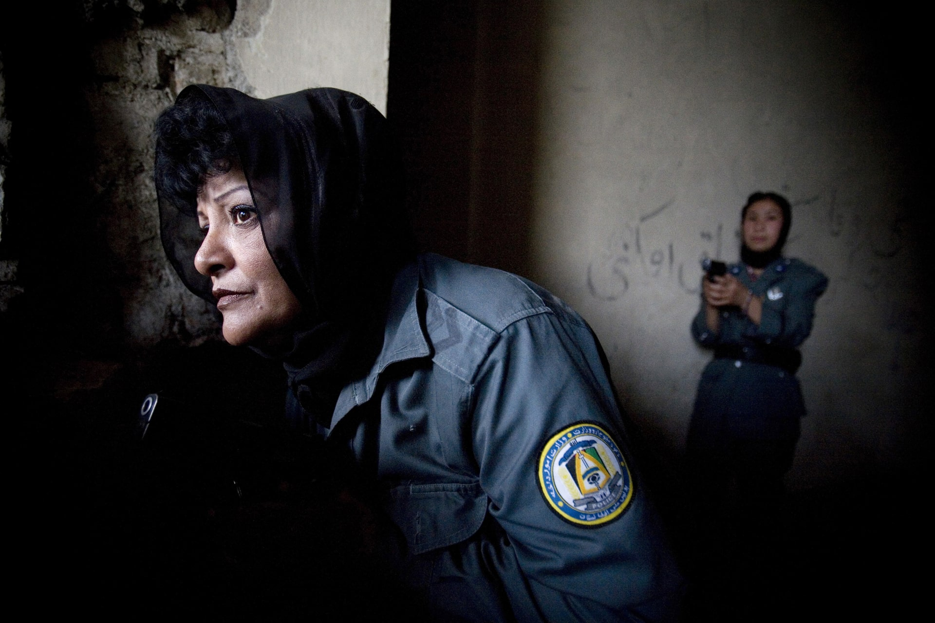 Women's Police Unit in Afghanistan