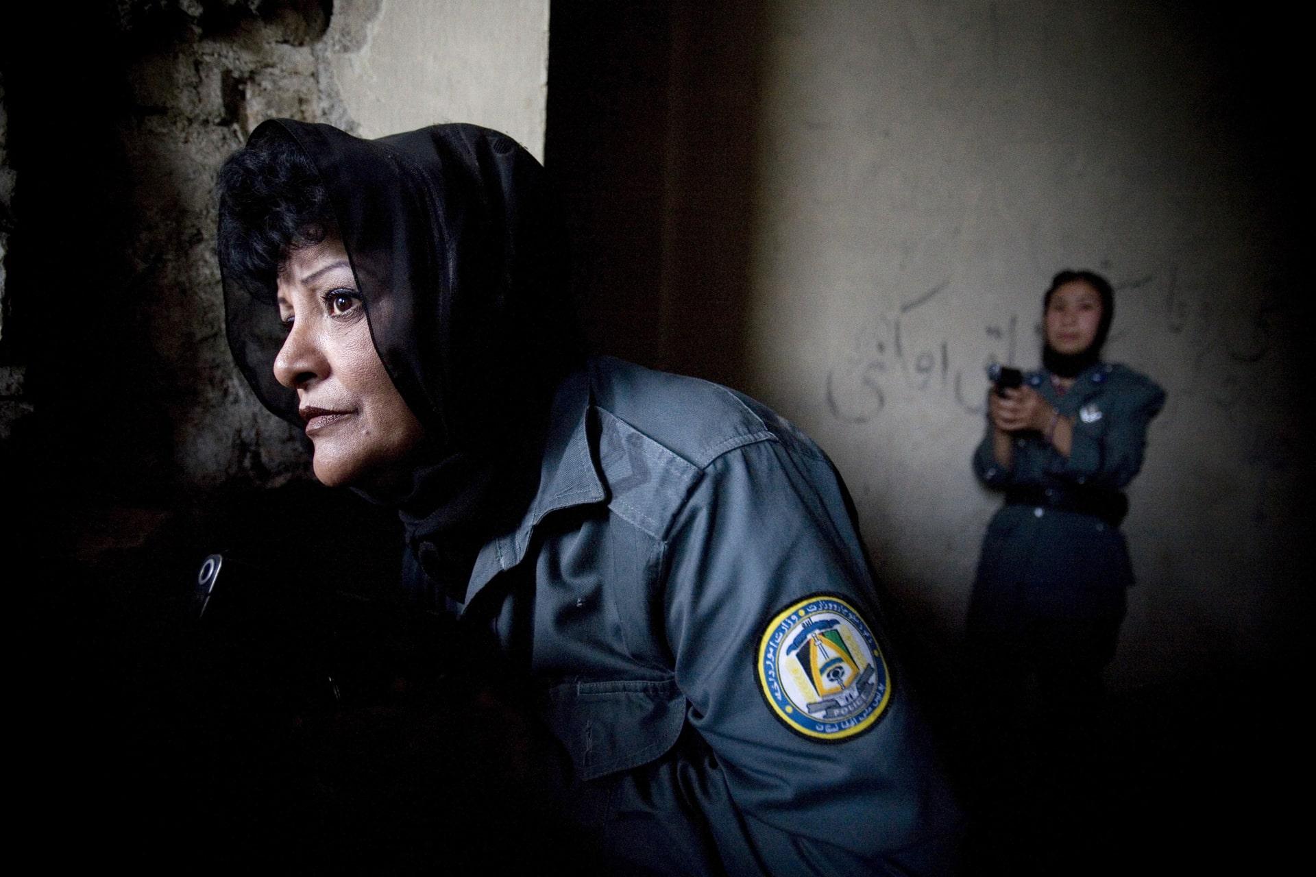 Women's Police Unit in Afghanistan