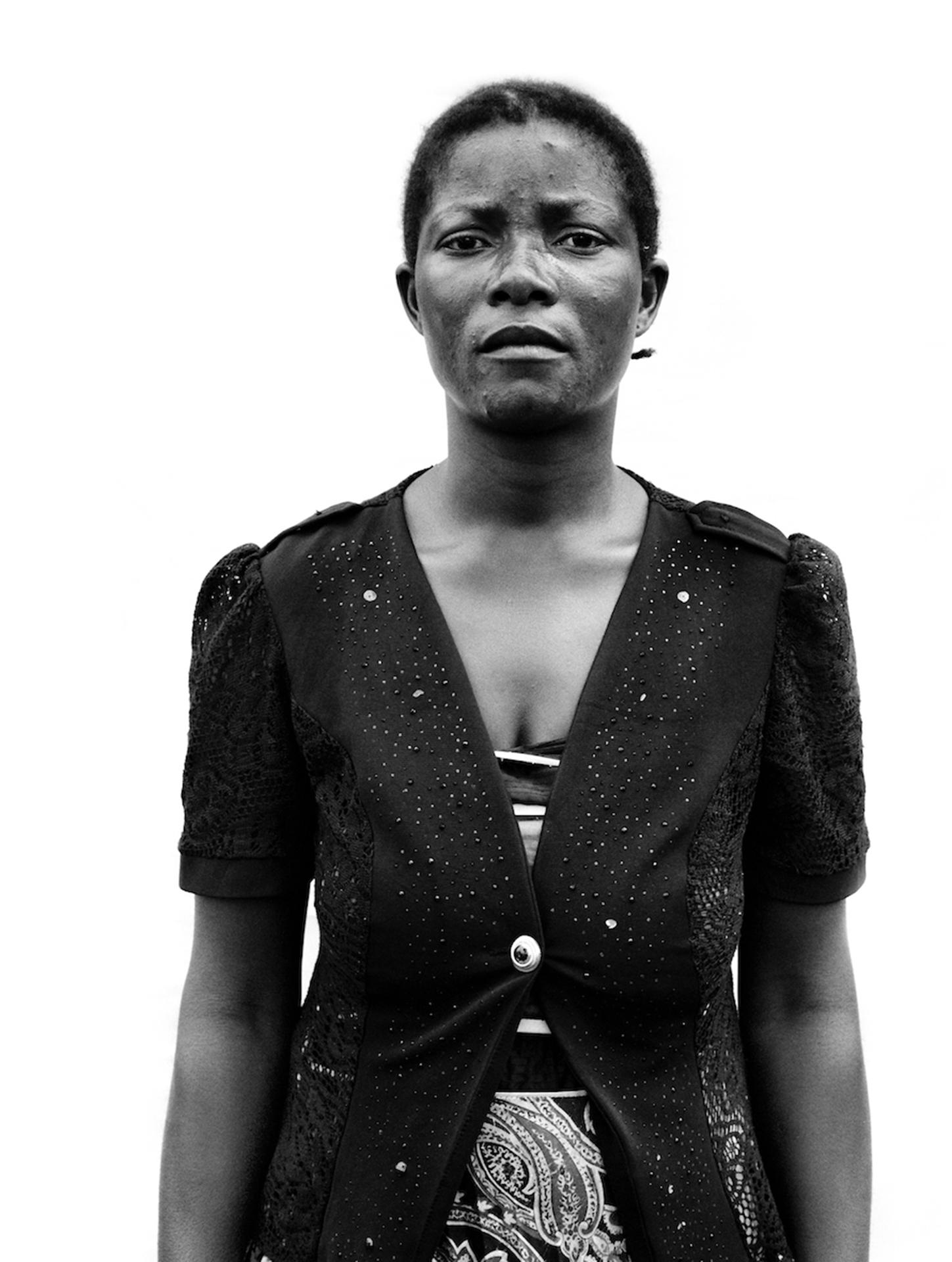 Portraits of Congolese women refugees in Lóvua, UNHCR Settlement, Angola.